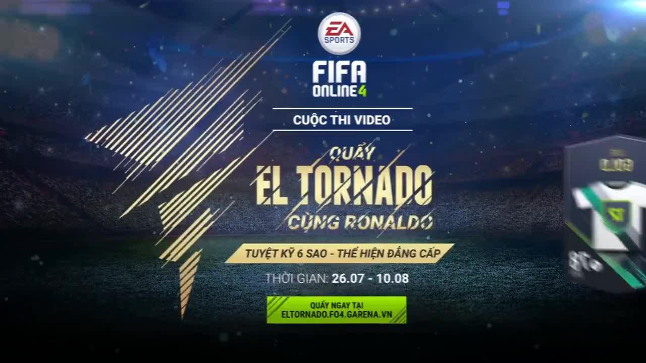 eltornado, fo4, vn, Hướng dẫn thực hiện skill El Tornado - FIFA Online 4 GIFs