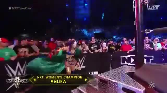 Watch and share WWE NXT Takeover San Antonio 2017 Asuka Vs Billie Kay Vs Nikki Cross Vs Peyton Royce GIFs on Gfycat