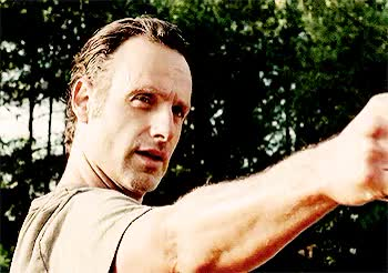 Watch and share Andrew Lincoln GIFs and Rick Grimes GIFs on Gfycat
