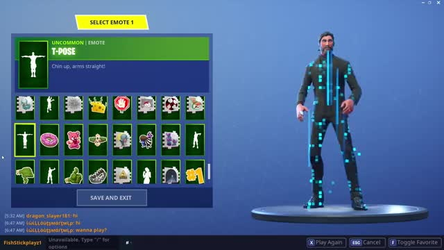 Watch and share Fortnite T Pose GIFs and T Pose Emote GIFs on Gfycat