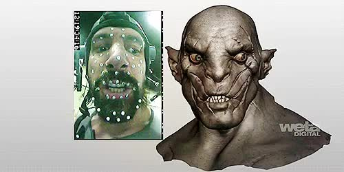 Watch and share Azog The Defiler GIFs and Manu Bennett GIFs on Gfycat