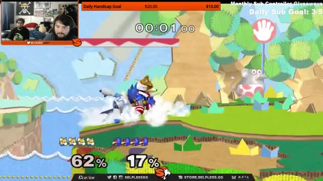 Mang0 practicing some nutty recovery for G4