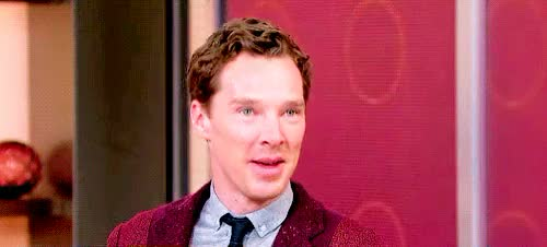 Watch Benedict Cumberbatch on Good Morning America GIF on Gfycat. Discover more bcedit, benedict cumberbatch, by maria, good morning america, t: appearance, t: edit, t: gif GIFs on Gfycat