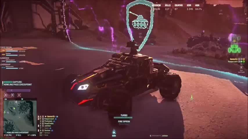 Planetside2, harasser, Harasser Wall Driving GIFs