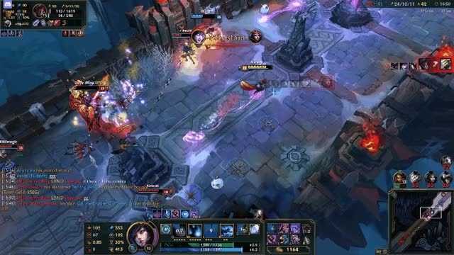 Watch and share Ahri Outplay GIFs by Nyrang on Gfycat