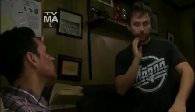 Watch Charlie GIF on Gfycat. Discover more charlie kelly dennis high its always sunny in philadelphia GIFs on Gfycat