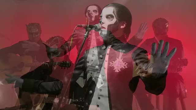 """Watch Ghost performs """"If You Have Ghosts"""" live in hardDrive Studio GIF by @namelessghuleh0 on Gfycat. Discover more Been, Computer Hardware (Industry), Concert, Ghost, Hard Disk Drive (Invention), Have, Live, Live (Composer), Performance, Should GIFs on Gfycat"""