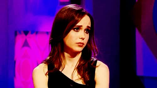 Watch and share Ellen Page GIFs and Emotinoal GIFs by Reactions on Gfycat