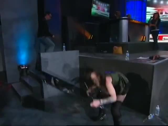 Watch chair GIF on Gfycat. Discover more action, daffney, knockouts, spike, tara, tna, wrestling GIFs on Gfycat