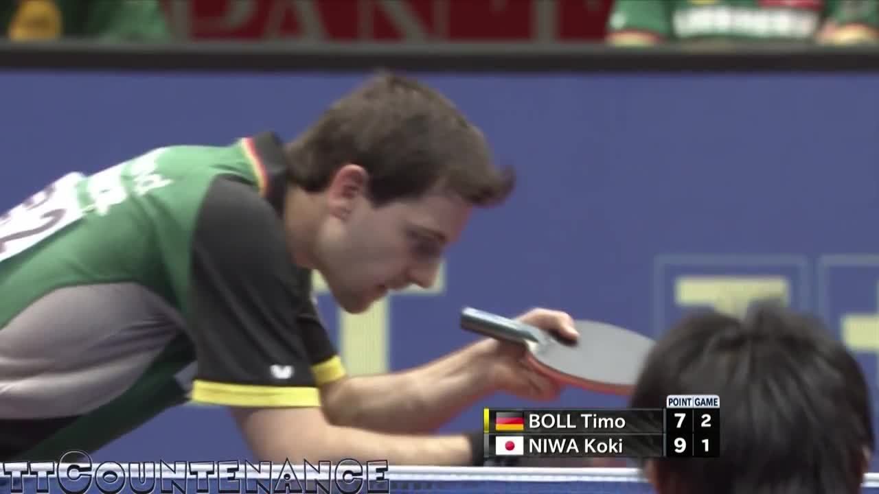 tabletennis, So much spin, that the opponent completely misjudges the bounce (reddit) GIFs