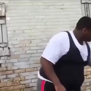 blackguydacing, fat, fatblackguydancing, fatguydancing, homlessguydacing, meme, Fat Black guy dancing GIFs