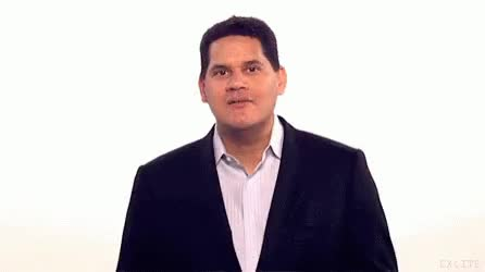 Watch and share Nintendo Reggie GIFs on Gfycat