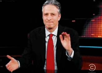 applause, clap, clapping, jon stewart, slow clap, slowclap, Jon Stewart Slow Clap GIFs