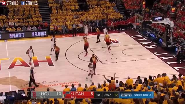Watch and share 2018 Nba Playoffs GIFs and Houston Rockets GIFs by Defensive Master _ Allen on Gfycat