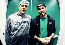 Watch and share * Stars Tyler Seguin Dallas Stars Jamie Benn GIFs on Gfycat