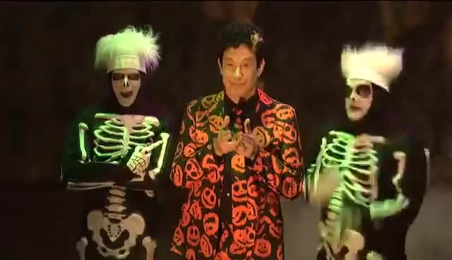 tom hanks, SNL - David S. Pumpkins (Tom Hanks) skit (ALL dance scenes) GIFs