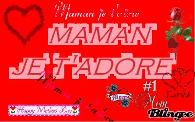Watch and share Maman Je T'adore Bonne Fête ! GIFs on Gfycat