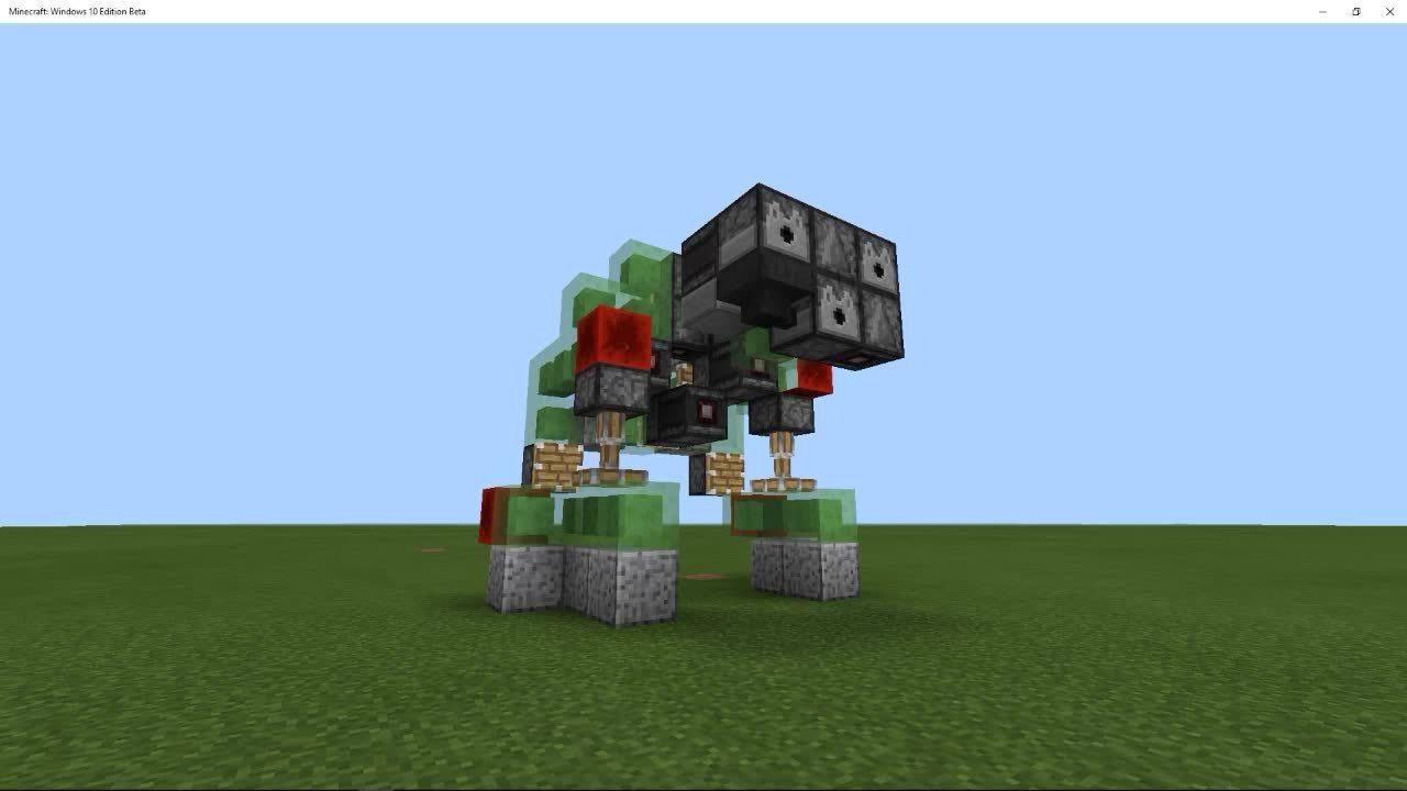 cubehamster, mcpe, minecraft, MCPE - Pocket Bot GIFs
