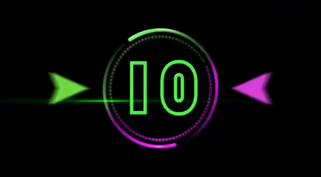 Watch and share Countdown Timer 10 Sec ( V 259 ) AE Hud Timer Circle With Sound Effects HD 4k GIFs on Gfycat