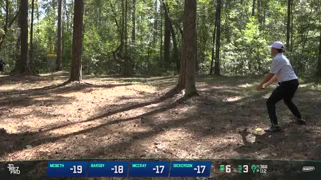 Watch 2018 HOFC | Final Rd F9 | Gregg Barsby hole 6 putt GIF by Benn Wineka UWDG (@bennwineka) on Gfycat. Discover more 2018 disc golf, JomezPro, Sports, disc golf, disc golf 2018, gregg barsby, hall of fame classic, jomez disc golf, jomez productions, paul mcbeth GIFs on Gfycat