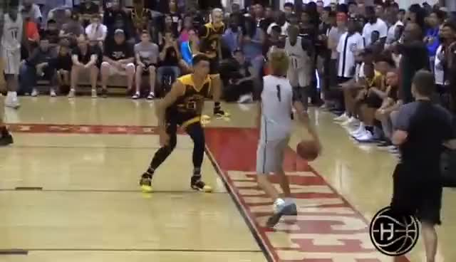 Watch and share LaMelo Ball Gets BLOWN OUT By 50 InFront On James Harden And Lonzo!! Big Ballers Vs Compton Magic GIFs on Gfycat