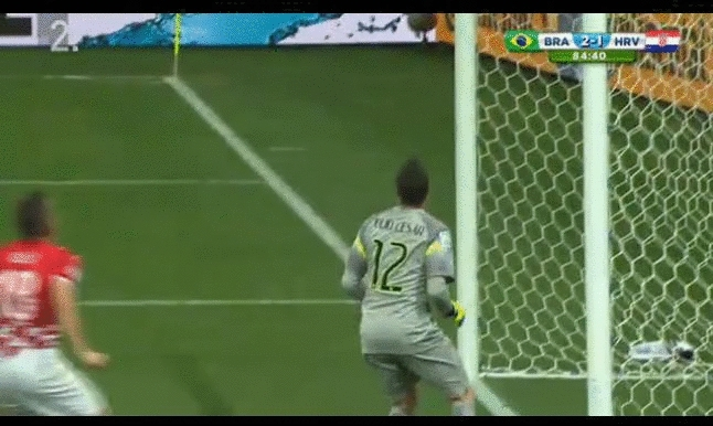 worldcup, Foul on Julio Cesar GIFs