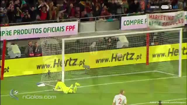 Watch and share (www.nGolos.com) Portugal 2-0 Hungary - Ronaldo 36' GIFs on Gfycat
