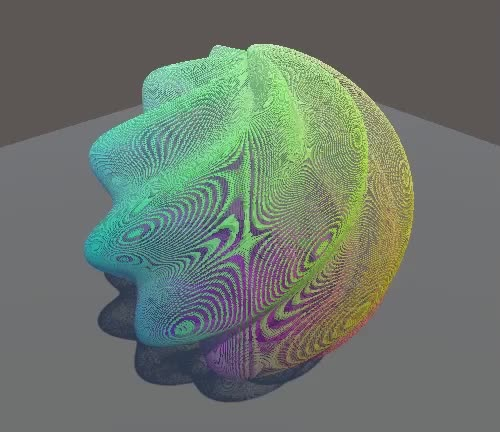 Watch and share Continuous Random Function Morping At Resolution 1000 GIFs by Catlike Coding on Gfycat