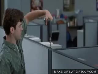 Watch Office space cubicle GIF on Gfycat. Discover more cubicle, office, officespace GIFs on Gfycat