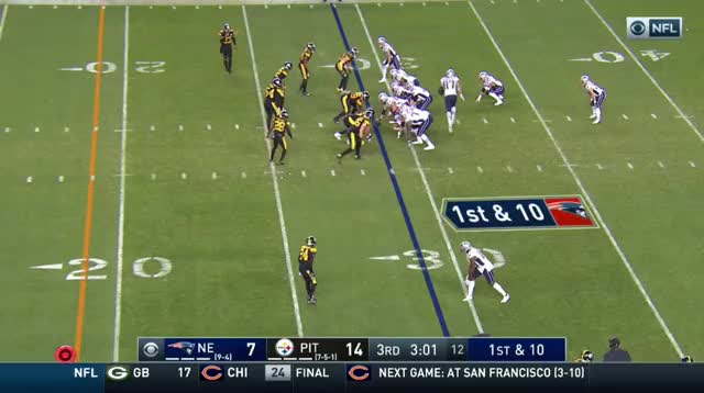 Watch and share 16 And Another Great Run By Burkhead GIFs on Gfycat