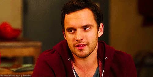 Watch and share Jake Johnson GIFs by Reactions on Gfycat