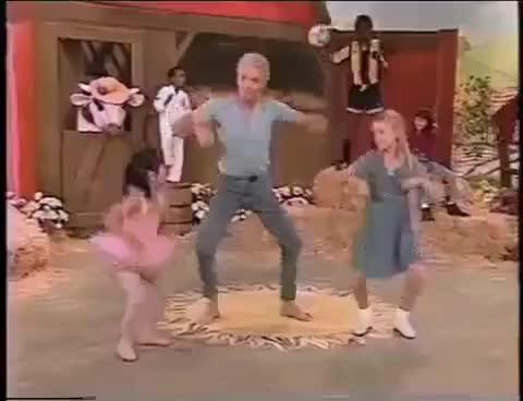 Farmer, Scary, very, video, yoga, Creepy yoga farmer! GIFs