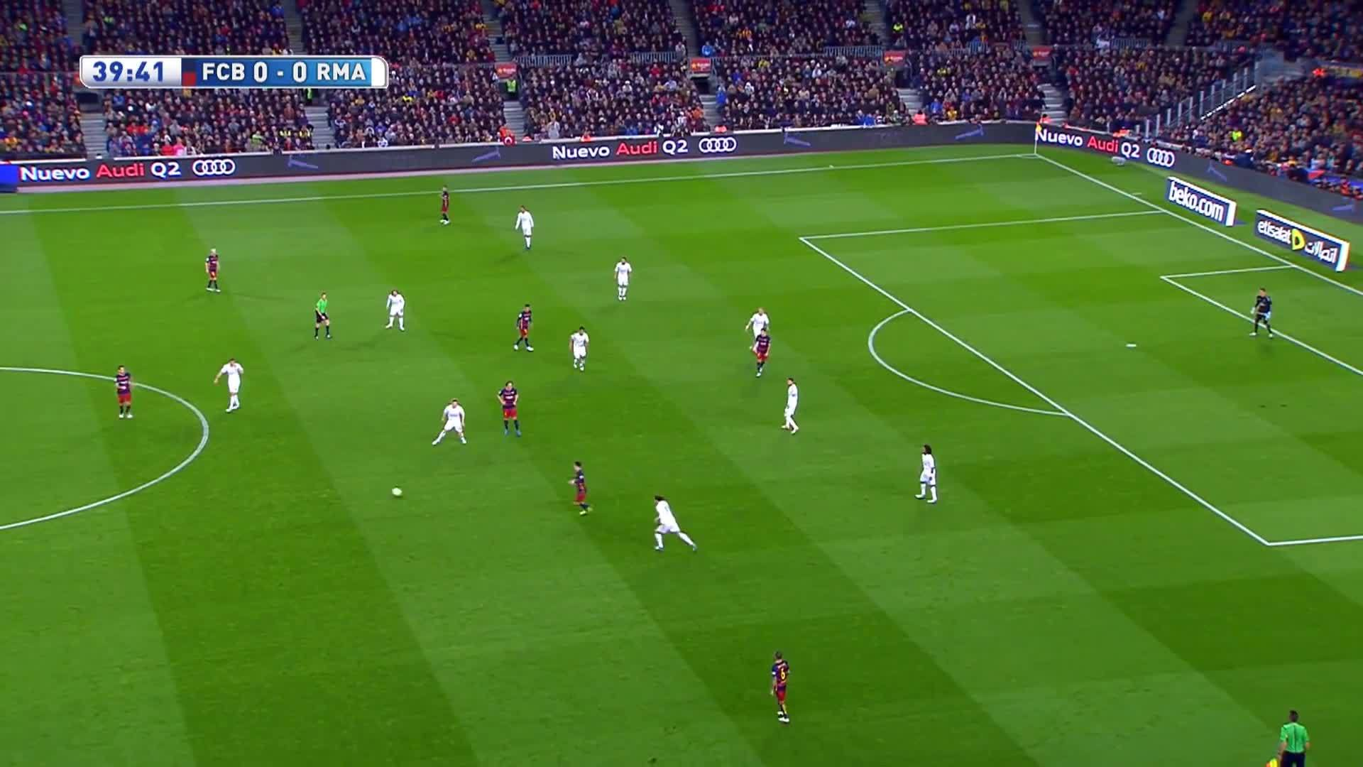 halamadrid, soccer, Cristiano Ronaldo vs Barcelona Away HD 1080i (02/04/2016) - English Commentary GIFs