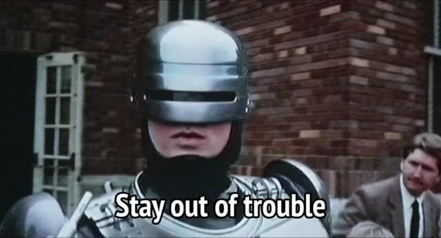 Watch and share Robocop GIFs by MikeyMo on Gfycat