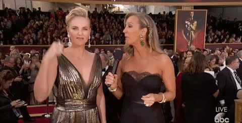 charlize theron, oscars, academy awards, charlize theron, dang, oscars 2017, academy awards 2017, so close, oscars red carpet, drat – Monster GIFs