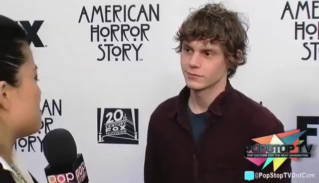 Watch and share Evan Peters GIFs and Smile GIFs on Gfycat