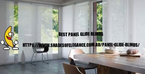 Watch and share Panel Glide Blinds GIFs by Shades of Elegance on Gfycat