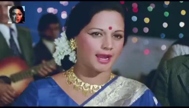 Watch and share Main Kaun Hoon | Ashok Kumar VS Bindu | Bollywood Dubstep GIFs on Gfycat