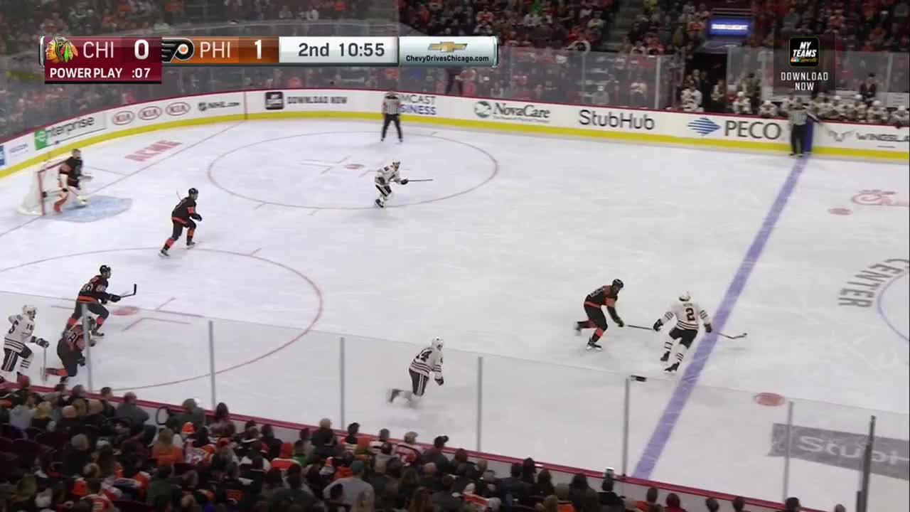 hockey, Sean Couturier (6th) Assisted by Claude Giroux GIFs