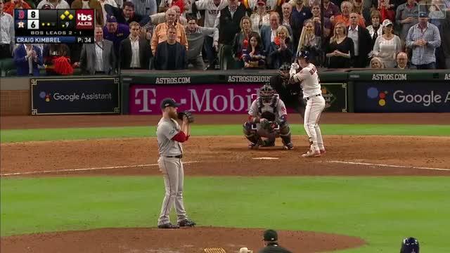 Watch 181017 Andrew Benintendi GIF by @thsrmaqnftksdlq on Gfycat. Discover more Baseball, MLB GIFs on Gfycat