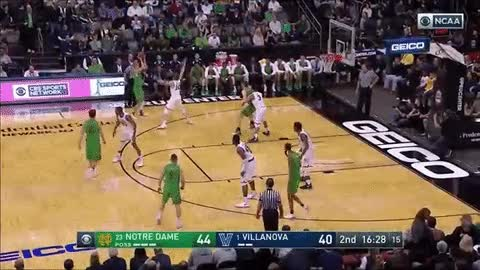 Watch Notre Dame: Colson/Geben, Turnovers, And The MVP GIF on Gfycat. Discover more related GIFs on Gfycat