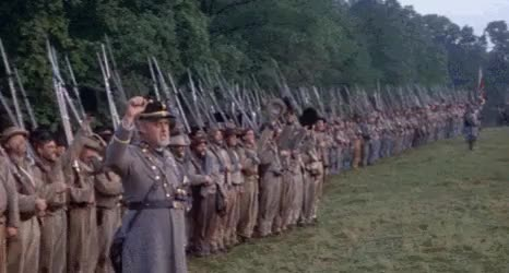 Watch Confederate Soldiers Cheering GIF by @nurdbot on Gfycat. Discover more related GIFs on Gfycat