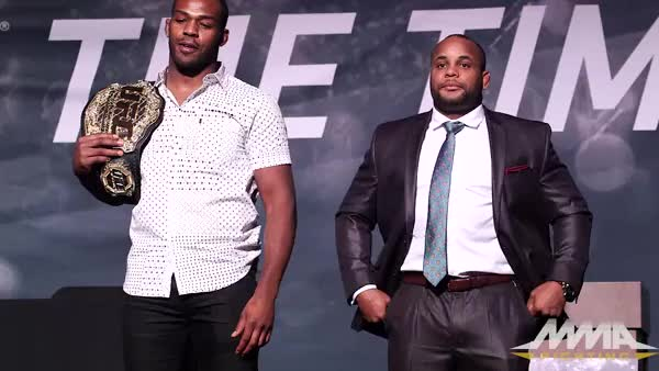 Watch and share Daniel Cormier GIFs and Jon Jones GIFs by invictafc on Gfycat