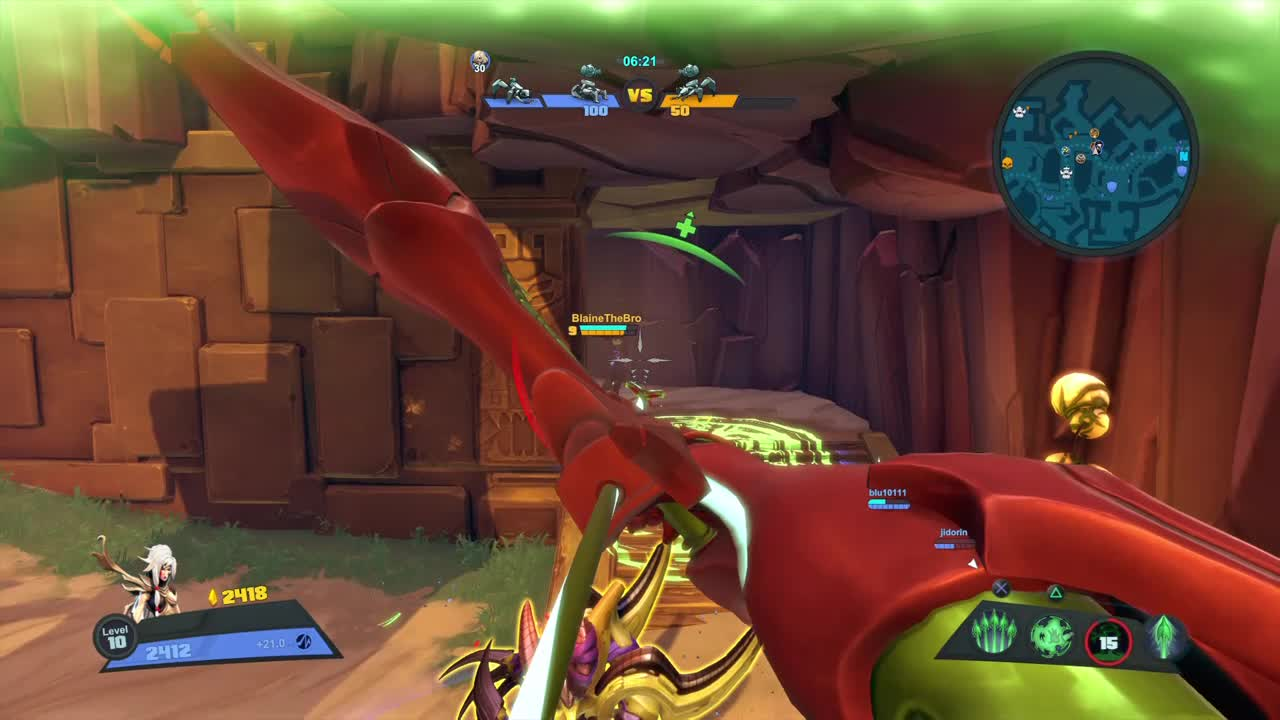 Battleborn, Battleborn - Thorn's an escape artist GIFs