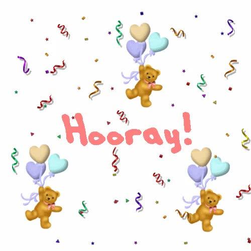 Watch and share Hooray GIFs on Gfycat