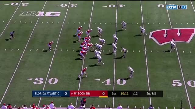 Watch and share Wisconsin Badgers GIFs and Jonathan Taylor GIFs by jordasm on Gfycat