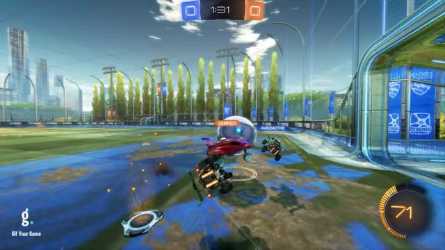 Watch Assist 1: VEGAN GAINS GIF by Gif Your Game (@gifyourgame) on Gfycat. Discover more Gif Your Game, GifYourGame, Rocket League, RocketLeague, VEGAN GAINS POV GIFs on Gfycat