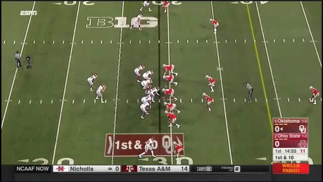Watch and share 2017 - Oklahoma Sooners At Ohio State Buckeyes In 40 Minutes GIFs by bscaff on Gfycat