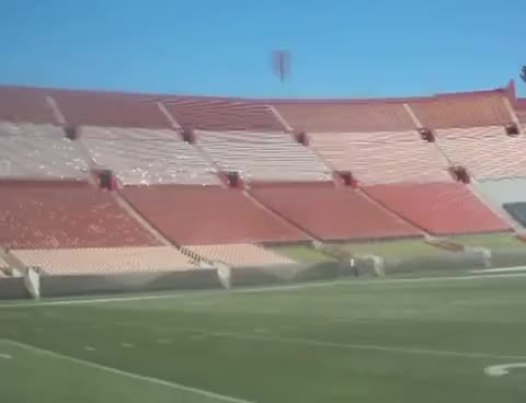 Watch and share L.A. Memorial Coliseum On The Field 360 Degree View Empty Stadium GIFs on Gfycat