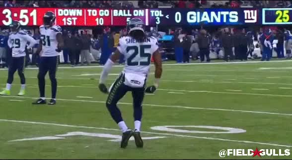 Watch and share RICHARD SHERMAN DANCE GIFs by fieldgulls on Gfycat